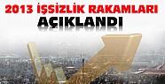 Türkiye'nin 2013 İşsizlik Rakamları Açıklandı