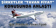 Uçak Biletlerinde Tavan Fiyat Konusunda Anlaşmaya Varıldı