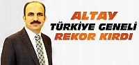 Uğur İbrahim Altay Türkiye'de Rekor Kırdı