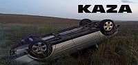 Virajı Alamayan Otomobil Devrildi:9 Yaralı