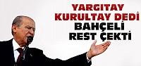 Yargıtay'dan MHP'ye kurultay kararı çıktı