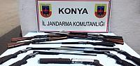 Yasa Dışı Tüfekler Jandarmaya Takıldı