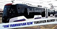 Yeni tramvaylar için teklif alındı