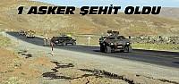 Yola Döşenen Mayın Patladı:1 Asker Şehit
