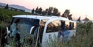 Yolcu Otobüsü Devrildi: 46 Yaralı!