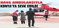 Zehirlenen Çocuğa Helikopterli Ambulans