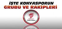 Ziraat Türkiye Kupasında Konyasporun Rakipleri