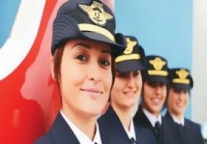 THY'de Kadın Pilot Sayısı Rekor Kırdı