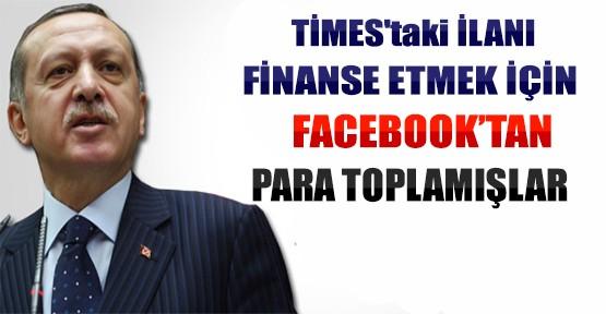 Times'taki İlanı Finanse Etmek İçin ADD Facebook'tan Para Toplamış!