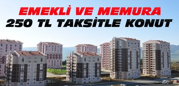 TOKİ'den Emekli ve Memura Taksitle Ev