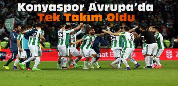 Torku Konyaspor Avrupa'da namağlup tek takım oldu