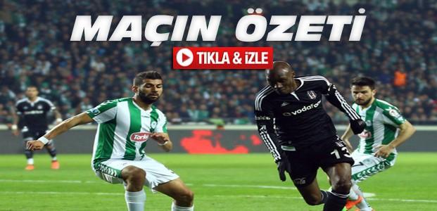 Torku Konyaspor-Beşiktaş KUPA-ÖZET-VİDEO