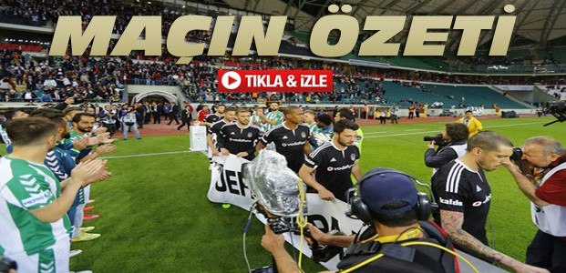 Torku Konyaspor Beşiktaş-ÖZET-VİDEO