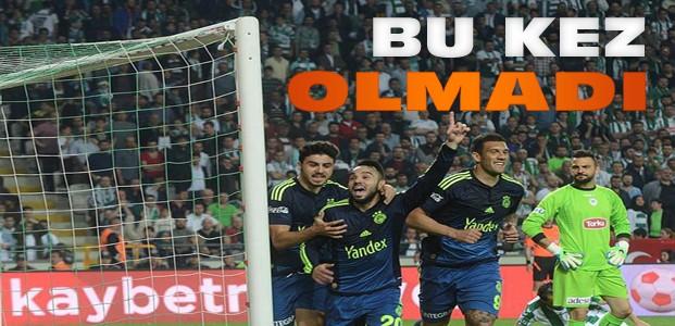 Torku Konyaspor-Fenerbahçe Maç Sonucu