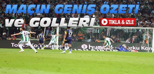 Torku Konyaspor-Fenerbahçe-ÖZET-VİDEO