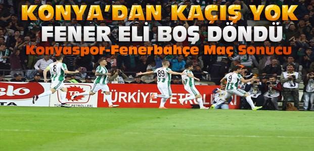 Torku Konyaspor Fenerbahçeyi de devirdi