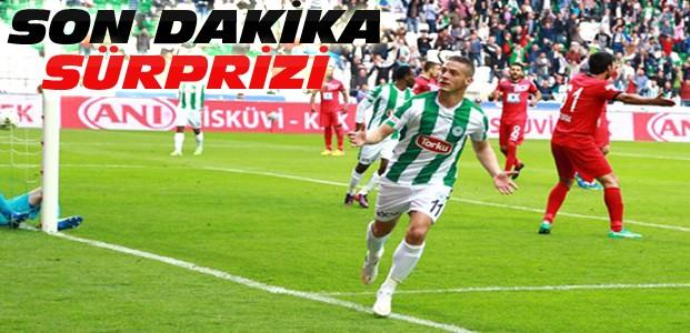 Torku Konyaspor fırtına gibi esmeye devam ediyor