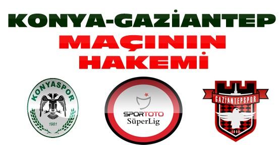 Torku Konyaspor Gaziantepspor Maçının Hakemleri