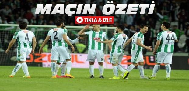 Torku Konyaspor-Trabzonspor ÖZET-VİDEO