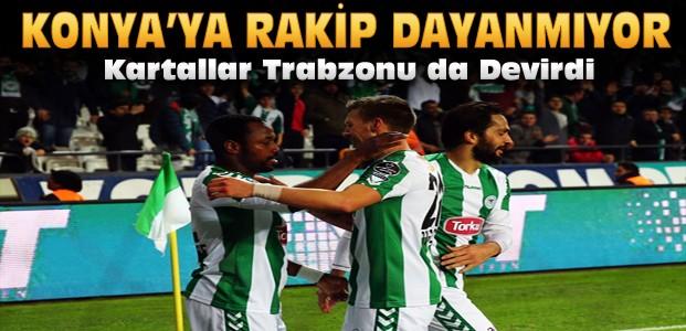 Torku Konyaspor-Trabzonsporu da Mağlup Etti