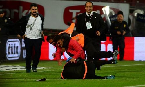 Trabzon'da saha karıştı