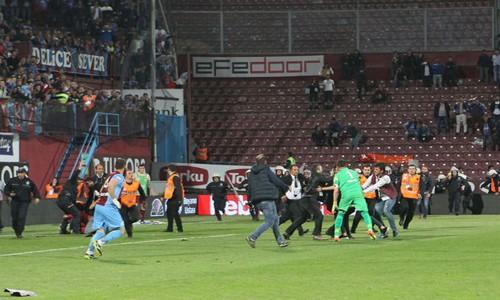 Trabzonsporun cezası açıklandı