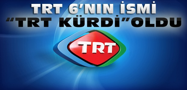 TRT'de İsim Değişikliği