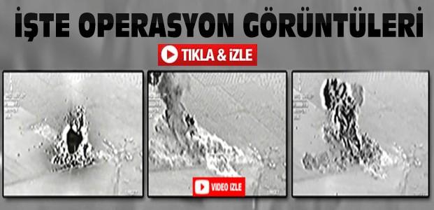 TSK IŞİD Operasyon Görüntülerini Yayınladı-VİDEO