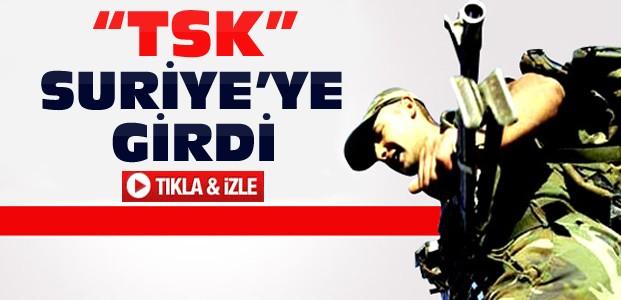 Türk Askeri Suriye'ye Girdi-VİDEO