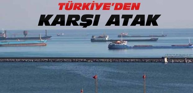 Türkiye 27 Rus Gemisini Tutukladı