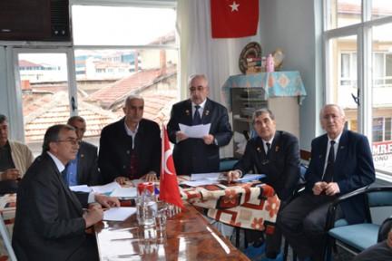 Türkiye Muharip Gaziler Derneği Ereğli Şubesi Olağan Genel Kurulu Yapıldı