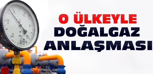 Türkiye O Ülkeyle Doğalgaz Anlaşması Yaptı