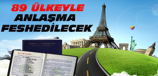 Türkiye Vizesiz Geçiş Anlaşmasını Feshedecek