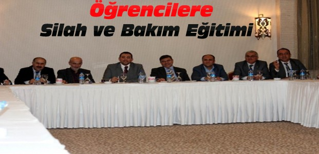 Türkiye'de İlk Kez Silah Eğitimi Bölümü Açılacak