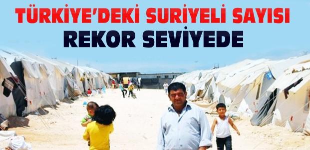 Türkiye'deki Suriyeli Sayısı Kaç Oldu?