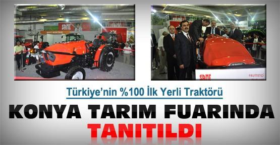 Türkiye'nin yüzde yüz yerli ilk traktörü Konya'da tanıtıldı