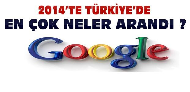 Türkler 2014'te Google'da En Çok Neleri Aradı?