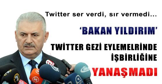 Twitter Gezi Eylemleriyle İlgili Ser Verdi, Sır Vermedi