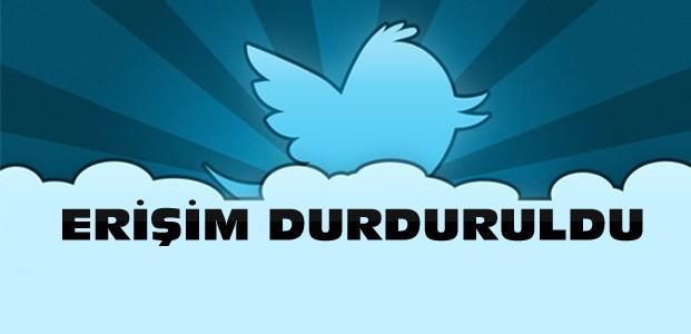 Son Dakika:Twitter'a Erişim Yasağı