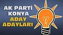 İşte Ak Partinin Konya'dan Tüm Aday Adayları