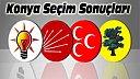 Konya ve İlçelerinde 1 Kasım Seçim Sonuçları