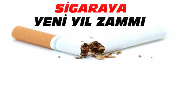 Yeni Yılda Sigaraya Zam