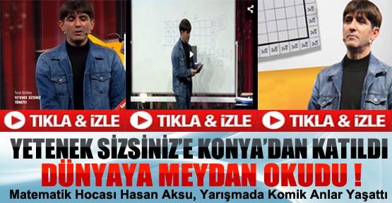 Yetenek Sizsiniz'e Konya'dan Katıldı Dünyaya Meydan Okudu-Video