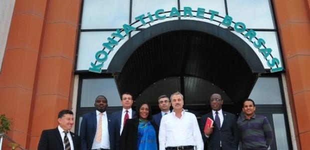 Zambiya Büyükelçisinden KTB'ye Ziyaret