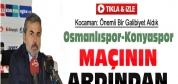 Aykut Kocaman'dan Hakem Eleştirisi