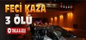 Konya'da Feci Kaza:3 Ölü