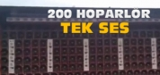 200 Hoparlör Tek Ses