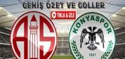 Antalyaspor-A.Konyaspor-ÖZET