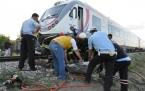 Konya'da Feci Tren Kazası-2 Ölü
