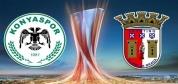 Konyaspor-Braga Maçının Özeti